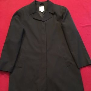 Anne Klein Single Breasted Trench Coat - Size 10